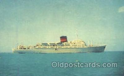 shi008738 - TSS Ocean Monarch Steamer Ship Ships Old Vintage Postcard Postcards