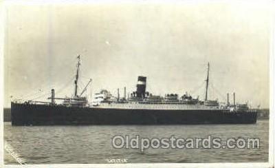 shi008741 - Letitia Steamer Ship Ships Old Vintage Postcard Postcards