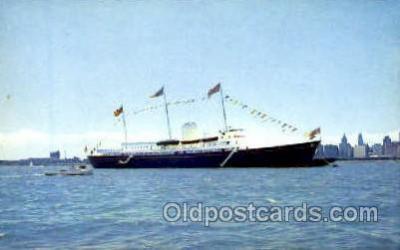 shi008761 - HMS Brittania Steamer Ship Ships Old Vintage Postcard Postcards