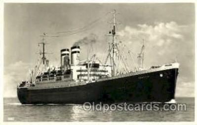 shi008774 - Hamburg    Steamer Ship Ships Old Vintage Postcard Postcards