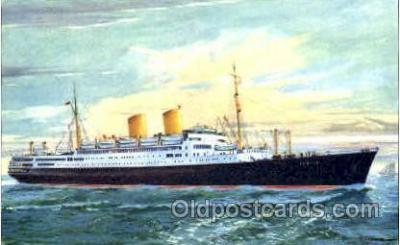 shi008783 - Norddeutscher Lloys Bremen MS Berlin Steamer Ship Ships Old Vintage Postcard Postcards