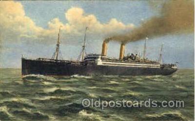 shi008784 - Norddeutscher Lloyd Bremen Steamer Ship Ships Old Vintage Postcard Postcards