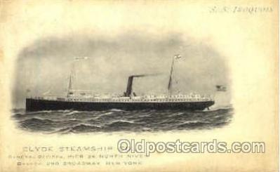 SS Iroquois, Clyde SteamShip Co.