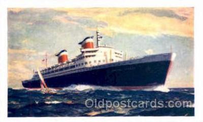 shi008810 - SS United States Steamer Ship Ships Old Vintage Postcard Postcards
