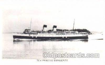 shi008846 - T.E.V. Princess Marguerite Steamer Ship Postcard Postcards
