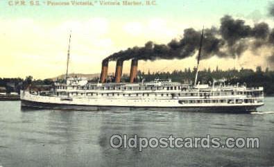 shi008850 - SS Princess Victoria Steamer Ship Postcard Postcards
