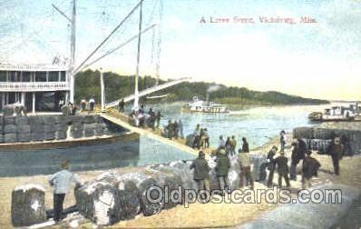 shi008851 - Vicksburg, MS, USA Steamer Ship Postcard Postcards