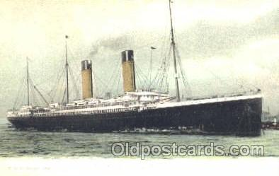 shi008862 - SS Oceanic Steamer Ship Postcard Postcards