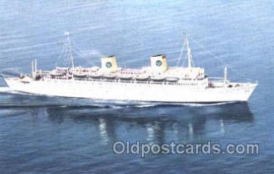 shi008864 - Swedish American Line Steamer Ship Postcard Postcards