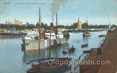 shi008895 - Puerto y Muelle Steamer Ship Ships Postcard Postcards