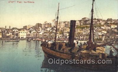 shi008902 - Vigo, LaRibera Steamer Ship Ships Postcard Postcards