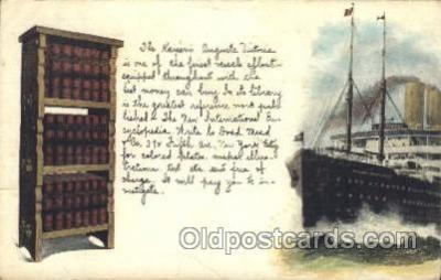 shi008910 - Kaiserim Auguste Victoria Steamer Ship Ships Postcard Postcards