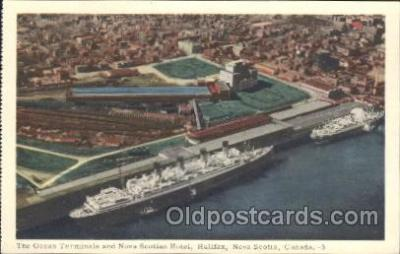 shi008913 - Nova Scottia Steamer Ship Ships Postcard Postcards