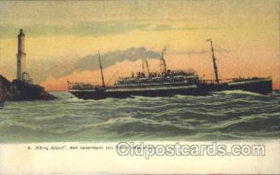 shi008914 - Konig Albert Steamer Ship Ships Postcard Postcards