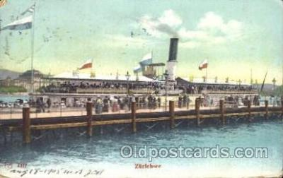 shi008938 - Zurichsee Steamer Ship Ships Postcard Postcards