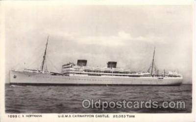 shi008939 - U.C.M.S. Carnarvon Castle Steamer Ship Ships Postcard Postcards