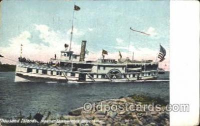 shi008946 - St. Lawrence Folger Steamer Ship Ships Postcard Postcards