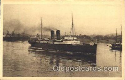 shi008952 - La Douce France Steamer Ship Ships Postcard Postcards