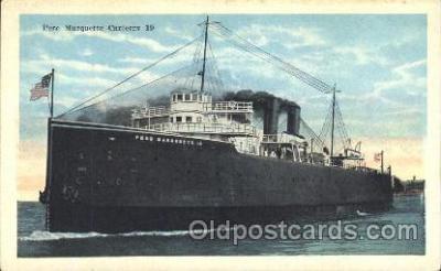 shi008956 - Pere Marquette Carferry Steamer Ship Ships Postcard Postcards