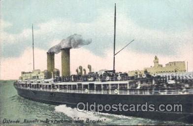 shi008989 - Jan Breyde Steamer Ship Ships Postcard Postcards