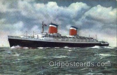 shi009002 - United States Lines<br><br>SS United States postcard postcards