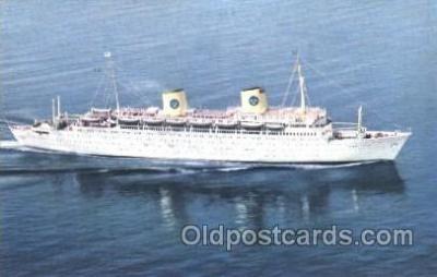shi009055 - Swedish American Line Steamer Ship Ships Postcard Postcards
