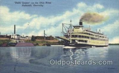 shi009069 - Delta Queen Steamer Ship Ships Postcard Postcards