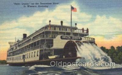 shi009074 - Delta Queen Steamer Ship Ships Postcard Postcards