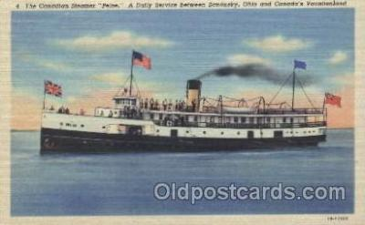shi009075 - Steamer Pelee Steamer Ship Ships Postcard Postcards