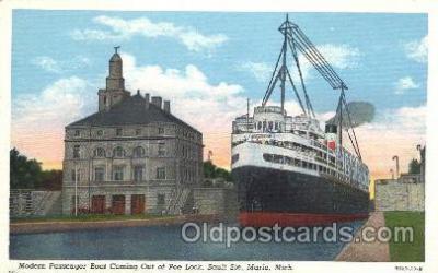 shi009080 - Passenger Boat Steamer Ship Ships Postcard Postcards