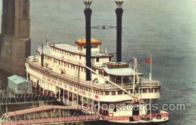shi009083 - River Queen Steamer Ship Ships Postcard Postcards