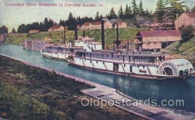 shi009089 - Columbia River Steamers Steamer Ship Ships Postcard Postcards