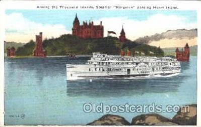 shi009092 - Steamer Kingston Steamer Ship Ships Postcard Postcards