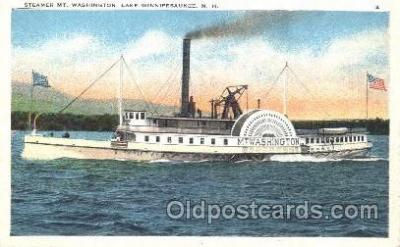 shi009093 - Steamer Mt. Washington   Steamer Ship Ships Postcard Postcards