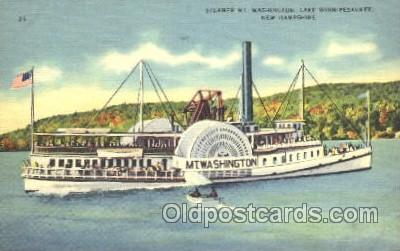 shi009109 - Steamer Mt. Washington Steamer Ship Ships Postcard Postcards