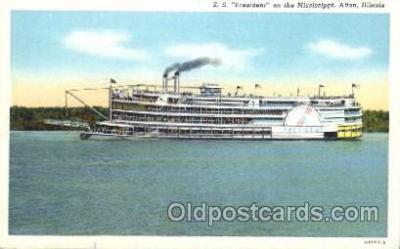 shi009119 - S.S. President Steamer Ship Ships Postcard Postcards