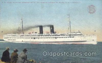 shi009123 - S.S. Yale Steamer Ship Ships Postcard Postcards