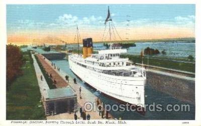 shi009130 - Passenger Steamer Steamer Ship Ships Postcard Postcards