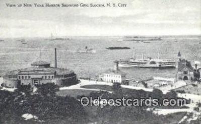 shi009153 - Gen Slocum, New York City, New York, NY USA Steam Ship Postcard Post Card