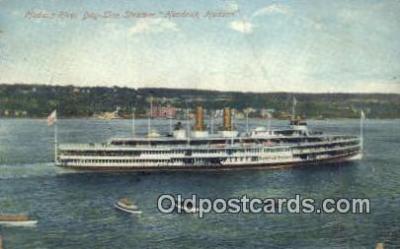 shi009174 - Hudson River Day Line Steamer, Hendricks Hudson, New York, NY USA Steam Ship Postcard Post Card