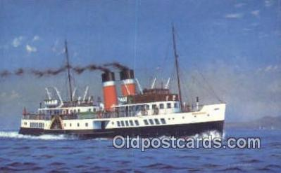 shi009213 - Waverly  Steam Ship Postcard Post Cards