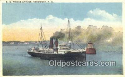 shi009216 - The SS Prince Arthur, Yarmouth, Nova Scotia, NS Steam Ship Postcard Post Cards