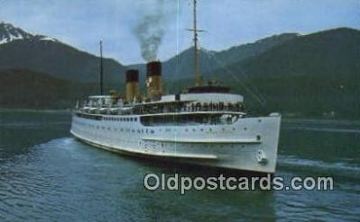 shi009218 - The Princess Patricia, Vancouver, British Columbia, BC Steam Ship Postcard Post Cards