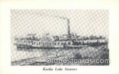 shi009223 - Kueka Lake Steamer, Brooklyn, New York, NY USA Steam Ship Postcard Post Cards