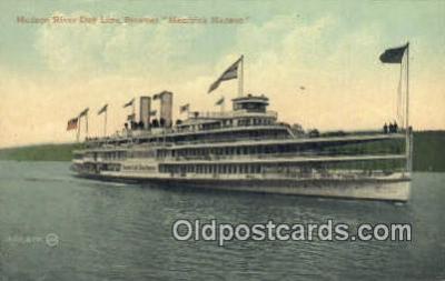 shi009233 - Hudson River Day Line Hendricks Hudson, New York, NY USA Steam Ship Postcard Post Cards