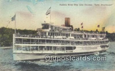 shi009249 - Hudson Day Line Steamer Hendricks Hudson, New York City, New York, NY USA Steam Ship Postcard Post Cards