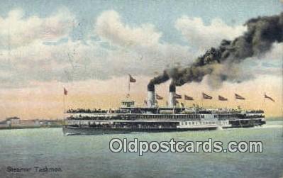 shi009260 - Steamer Tashmoo Steam Ship Postcard Post Cards