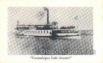 shi009264 - Canandaigua Lake Steamer Steam Ship Postcard Post Cards