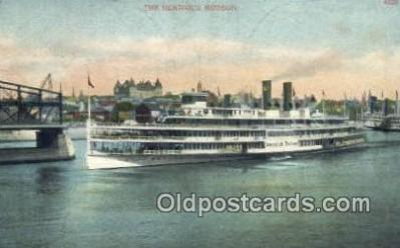 shi009275 - The Hendricks Hudson, New York, NY USA Steam Ship Postcard Post Cards
