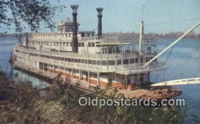 shi009281 - A Reminder Of Days Gone By Steam Ship Postcard Post Cards
